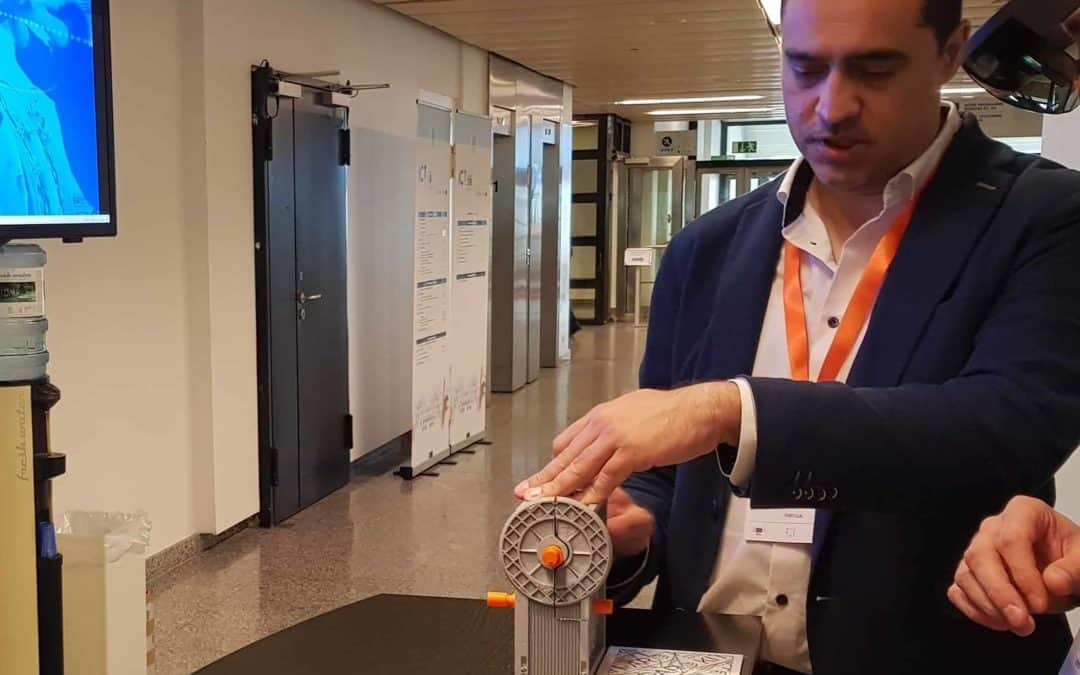KIT-AR presents their intelligent AR solution for manufacturing at ICT 2018