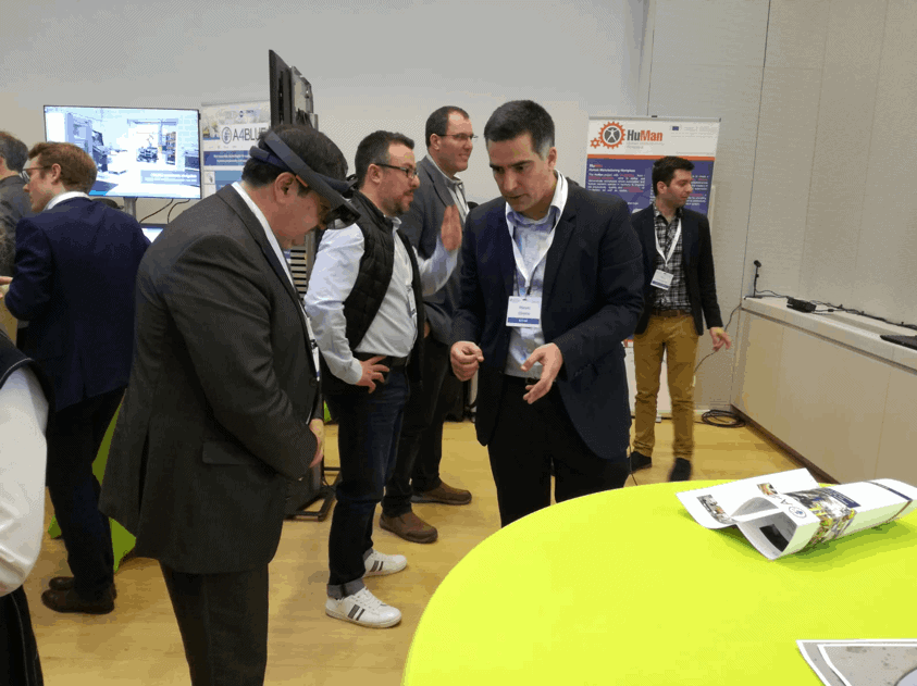 "KIT-AR technology demonstrated at EFFRA's ""factories of the future community days"" event"
